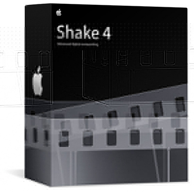 Shake 4.1 Mac OS X Retail Box